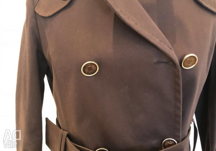 New brown coat fitted with a coat of Italy