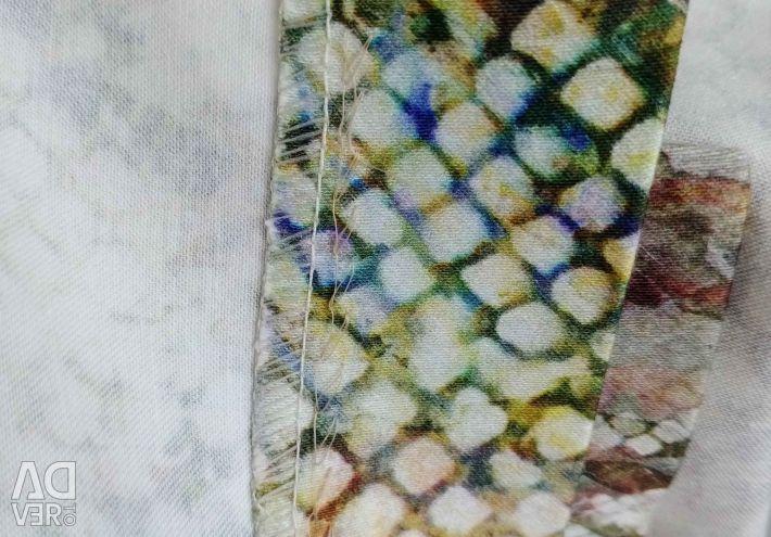 Etek yılan baskı