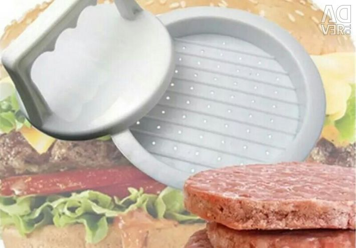 Mold for the manufacture of cutlets.