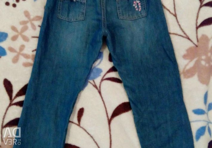 Pants for a girl. Mazkeevskie.2-4years