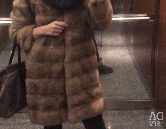 Mink γούνινο παλτό r-42/44
