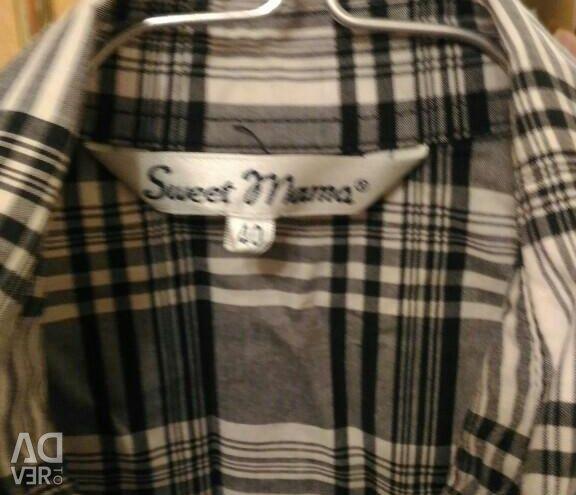 Πουκάμισο για έγκυες Sweet mama, μέγεθος 40