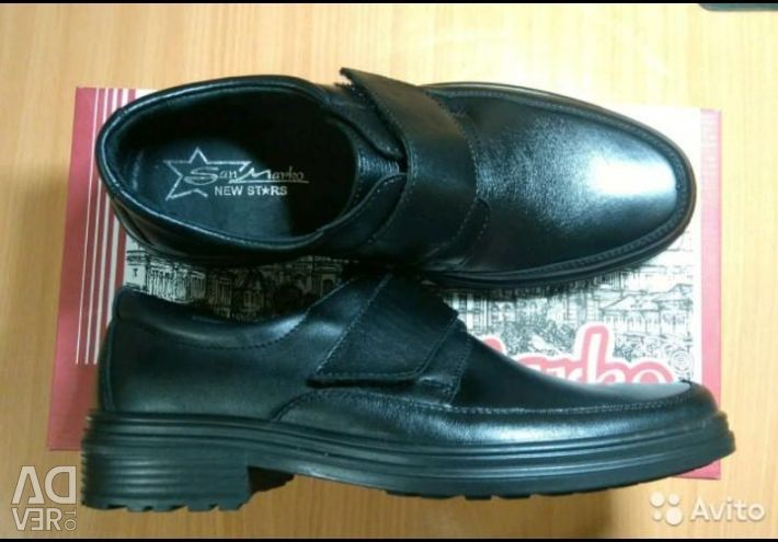 New leather shoes _36 р.