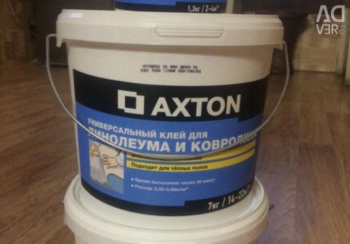 New glue for linoleum and carpet