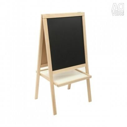 The easel is bilateral new