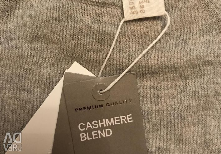 New cashmere sweater hm 68