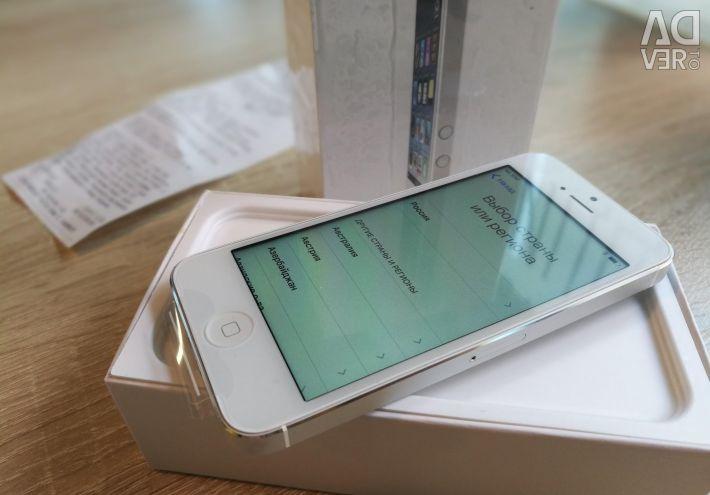 IPhone 5 λευκό 16Gb