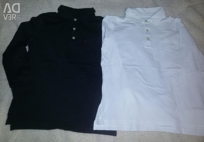 Polo jcrew with long sleeves 2pcs