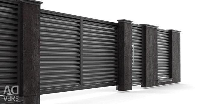Fence blinds