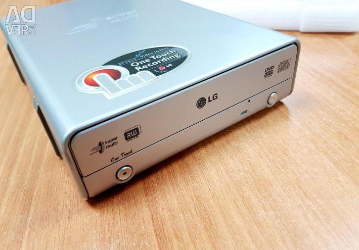 External optical drive LG GSA-5169D Silver