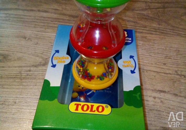 Погремушка TM Tolo