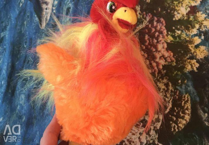 Singing cock