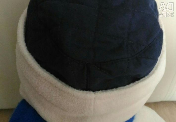 Demi-season fleece hat, 48 size