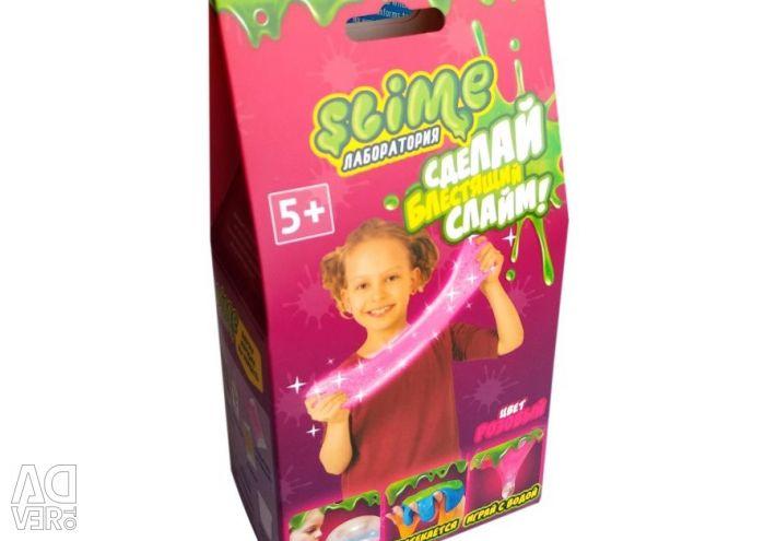 Малый набор для девочек Slime розовый