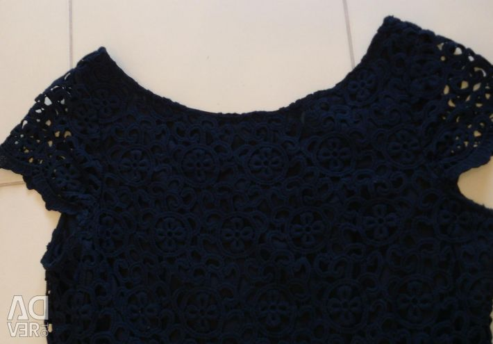 French lace cotton dress