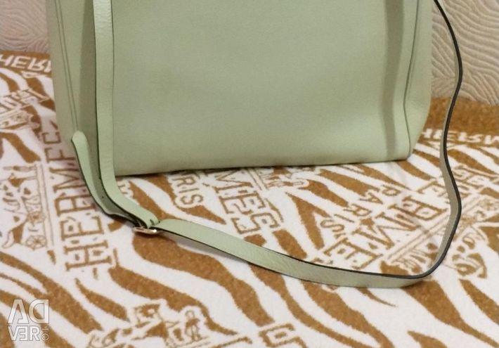 A bag. Color pistachio. Leather. Gucci