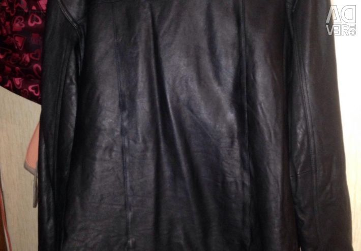 Leather jacket, 50-52 size