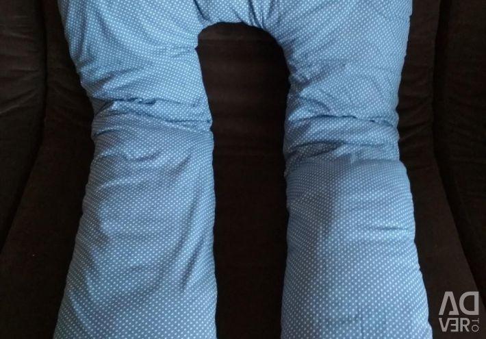 Μαξιλάρι για έγκυες γυναίκες + επιπλέον μαξιλαροθήκη