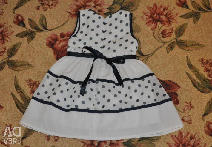 Κομψό φόρεμα για ένα έτος Bebus (κατασκευασμένο στην Τουρκία)