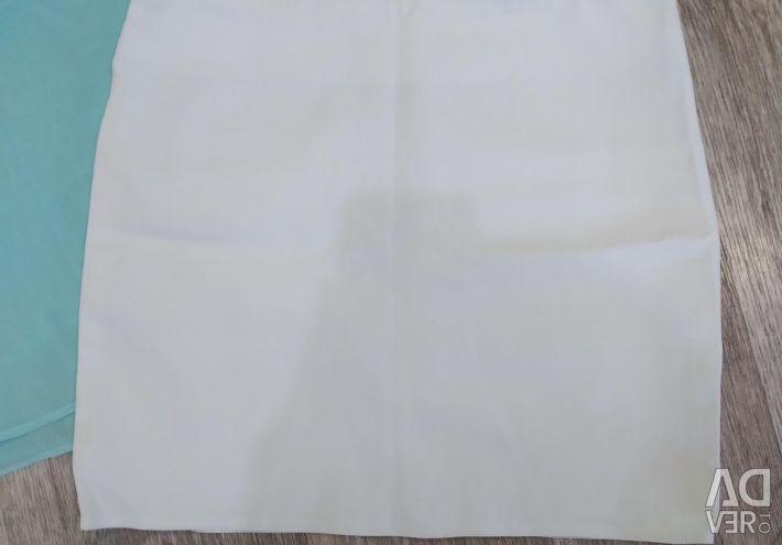 Mini skirt + gift blouse
