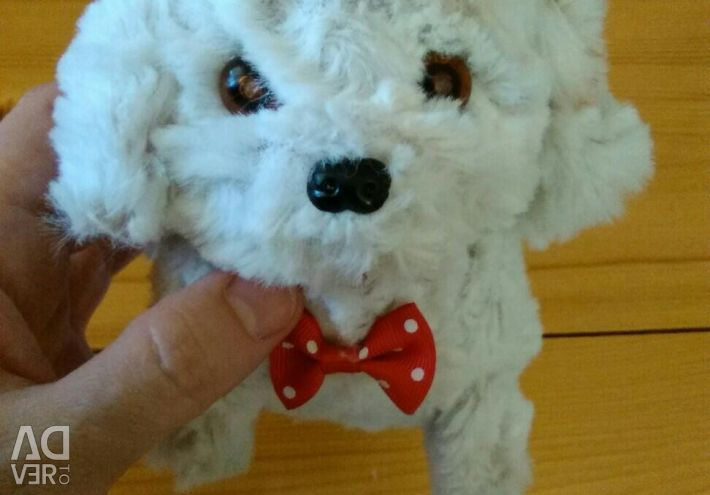 Interactive soft toy Dog