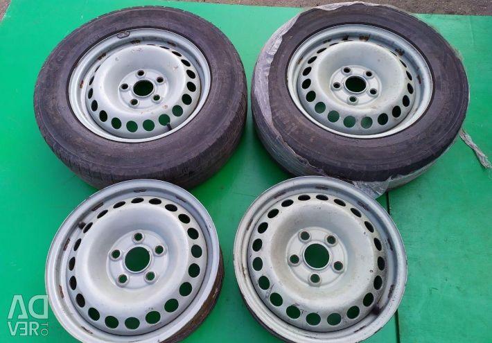 Диски колeсные комплект VW transporter T5 T6