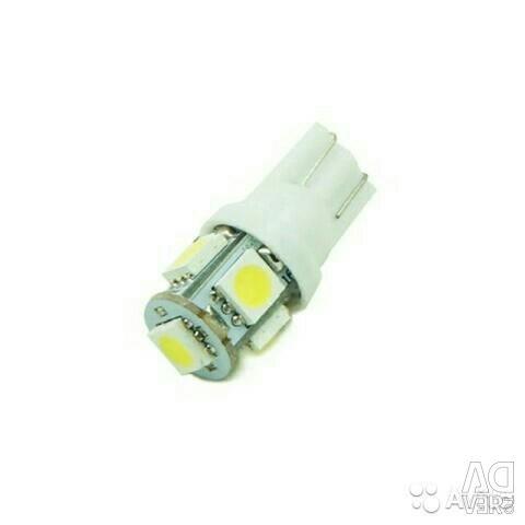 Auto LED bulb LED W5W (T10), T5