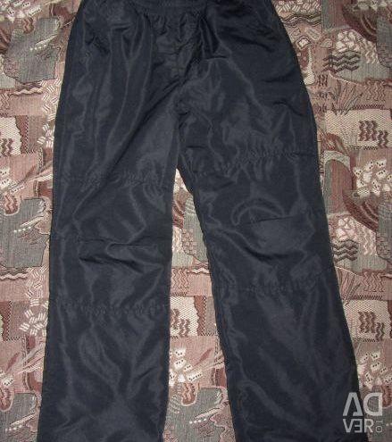 Утепленные демисезонные уличные брюки Funday р.128