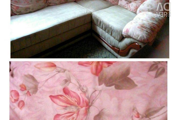 Γωνιακός καναπές.