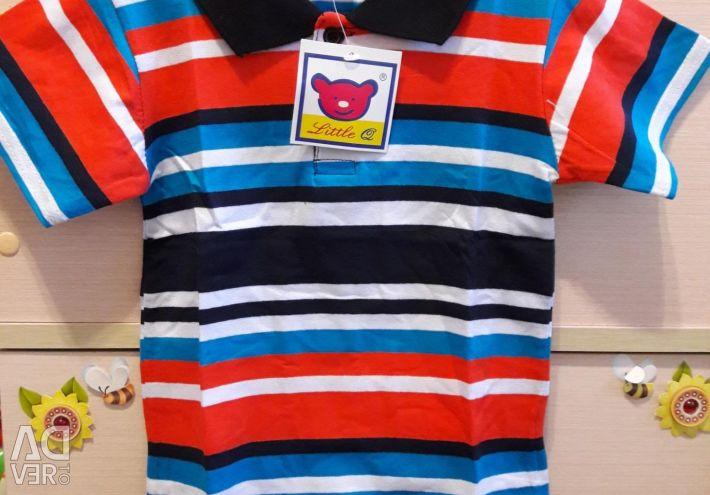 Новые футболки поло детские