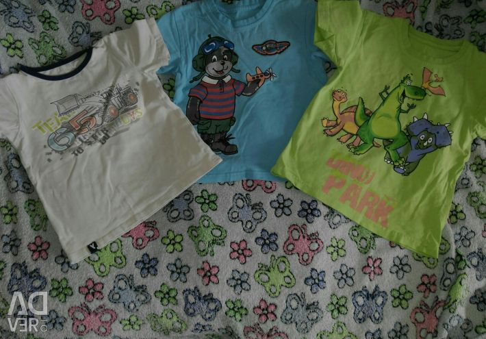 T-shirts suitable for kindergarten 104 pp