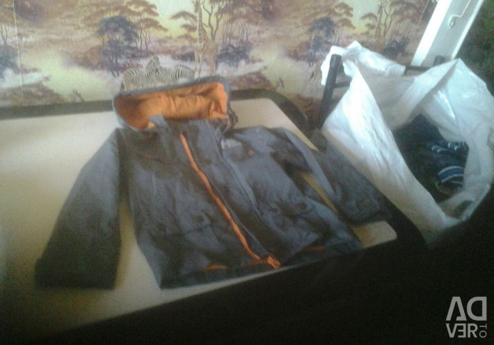 Jackets of different sizes, dark vetovovka for 3 years