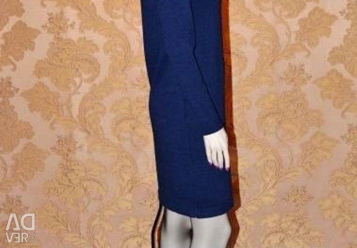 Dress knitted art. 2076