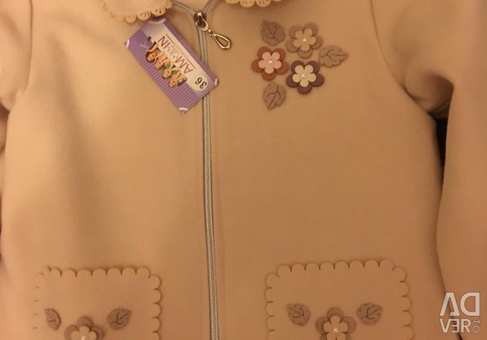 New Cashmere Jacket with Label