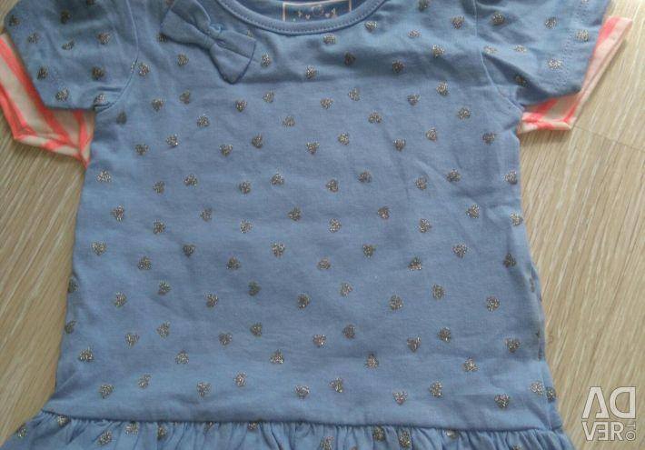 Нові футболки Primark 2 шт., Р.74