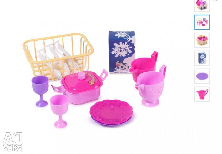 Παιδικά σετ πιάτων, τα τηγάνια-5 είδη
