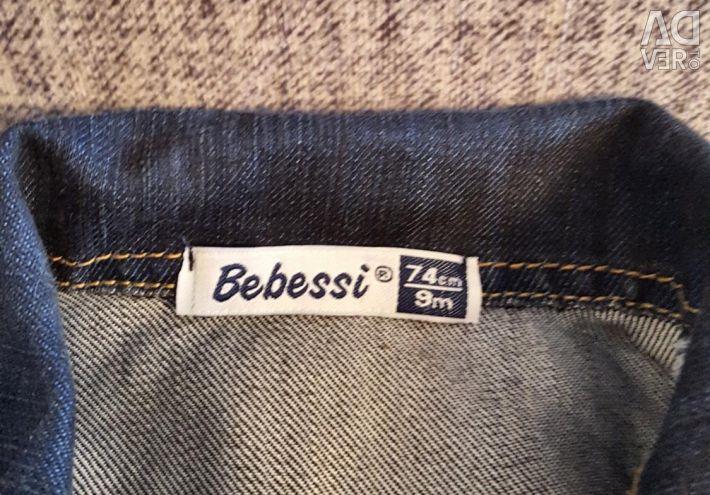 Suit denim and sweatshirt Zara BebyBoy