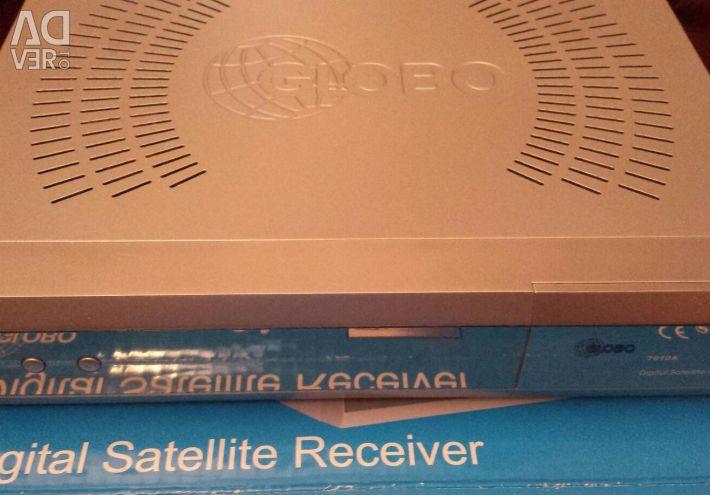 Globo digital receiver