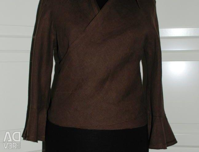 Linen blouse p. 42-44