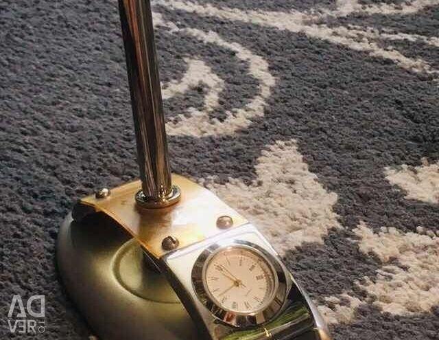 Desk Desk Set with Clock and Pen Ger