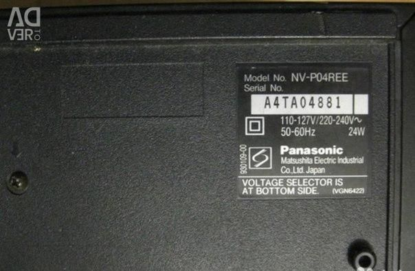 Panasonic NV-P04REE video player for parts