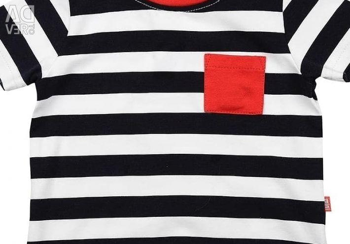 Ριγέ μπλουζάκι