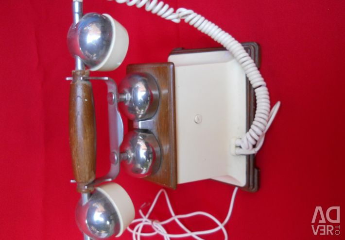Телефон старовинний стаціонарний