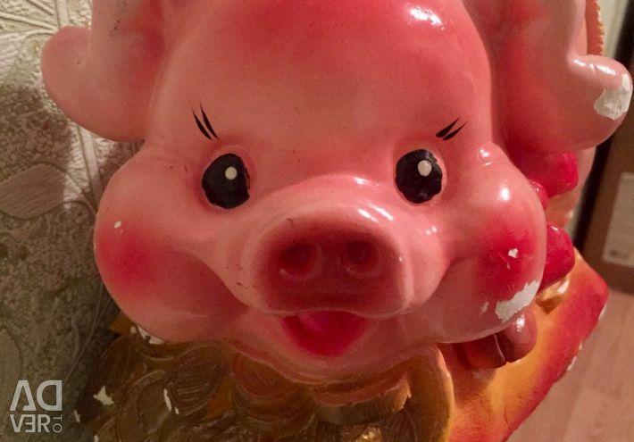 Big new beautiful piggy bank
