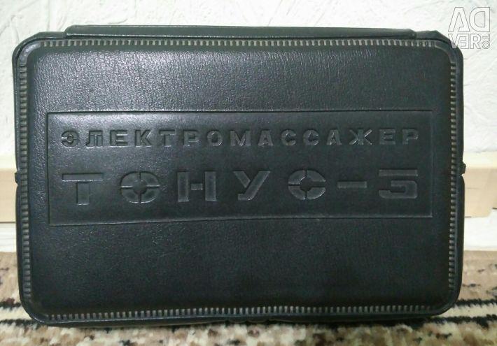 Masagerul vibrator sovietic Tonus-3 (cu duze)