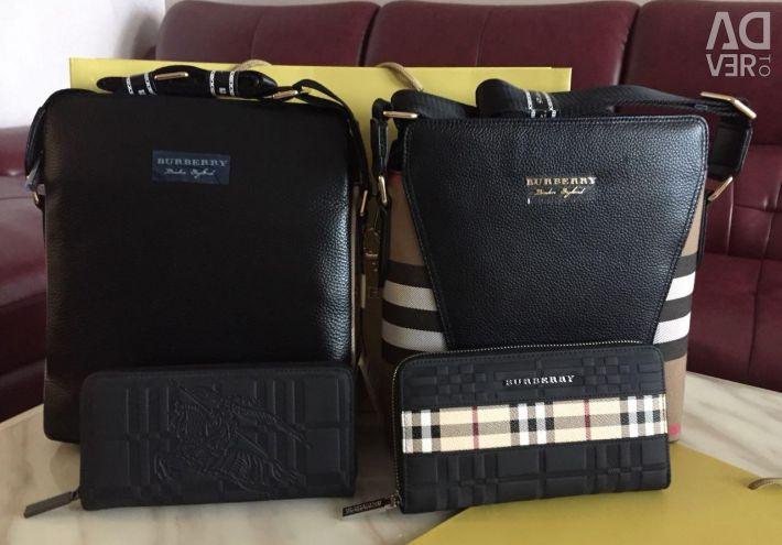 Burberry τσάντες