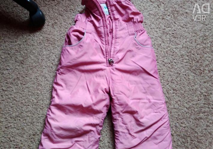 Χειμερινό κοστούμι ύψους 98-104cm