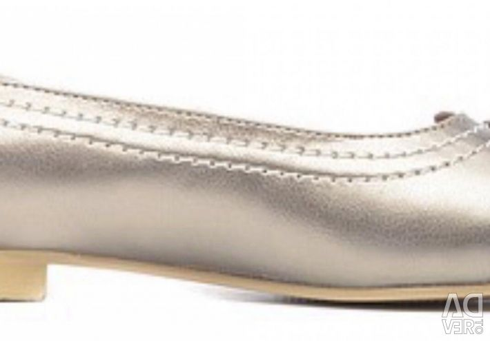 New leather shoes ? ballet shoes