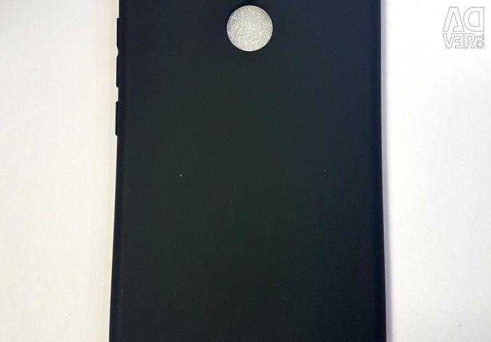 Case black matte Huawei Honor 10, 8X.