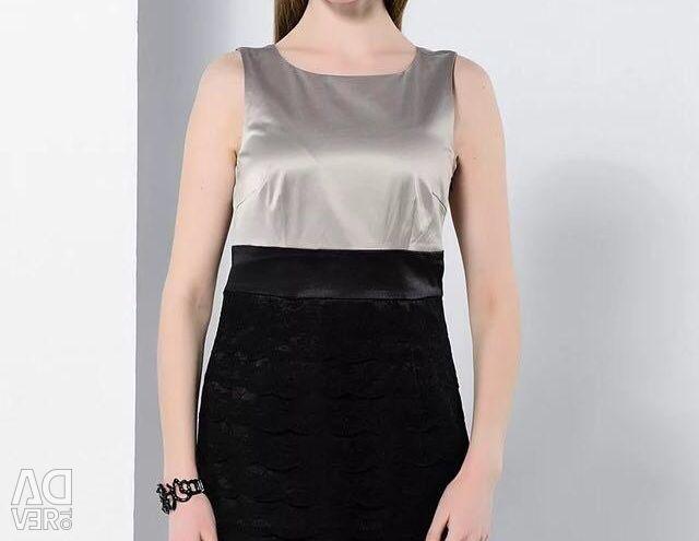 ??Dress Vila 14022618 / StringBLACKSKIRT